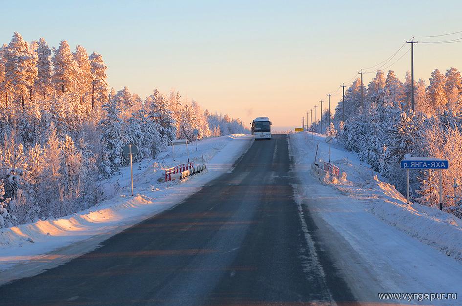 Из-за морозов отменено движение автобусов и самолетов