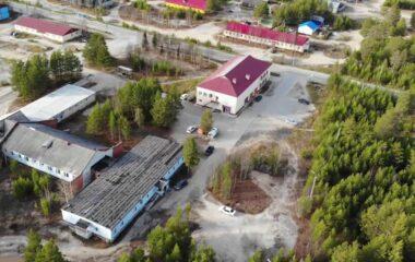 Видео пролёт дроном над Вынгапуровским